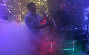 DJ and Sax Wedding in Dublin