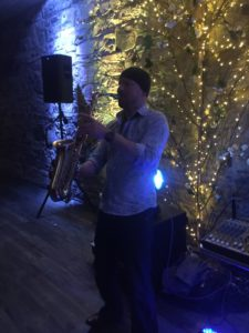 Wedding Saxophone player in Ballmagarvey