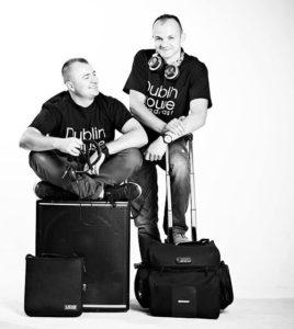 dj and sax, weddings dublin
