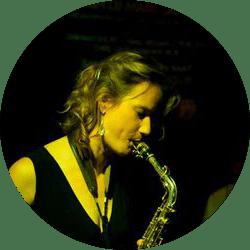 Female Saxophone player in Dublin