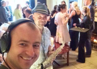Saxophonist Dublin www.djandsax.ie