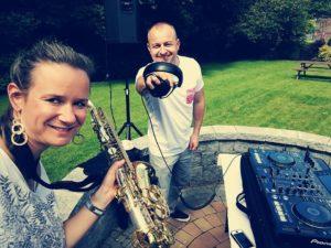 Wedding DJ and Sax player Ireland