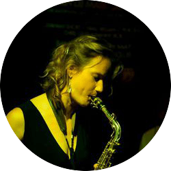 Female Saxophone player in Dublin